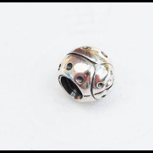 Discontinued LadyBug Pandora charm
